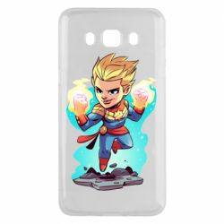 Чехол для Samsung J5 2016 Captain marvel hovers in the air