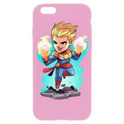 Чехол для iPhone 6/6S Captain marvel hovers in the air
