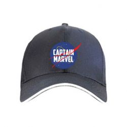 Кепка Captain Marvel in NASA style