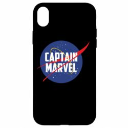 Чохол для iPhone XR Captain Marvel in NASA style