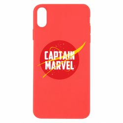 Чохол для iPhone Xs Max Captain Marvel in NASA style