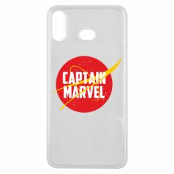 Чохол для Samsung A6s Captain Marvel in NASA style