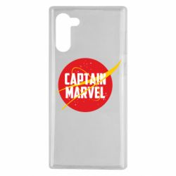 Чохол для Samsung Note 10 Captain Marvel in NASA style