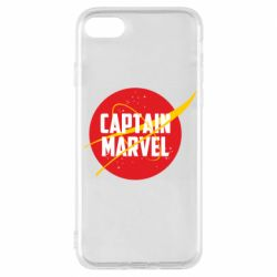 Чохол для iPhone 7 Captain Marvel in NASA style