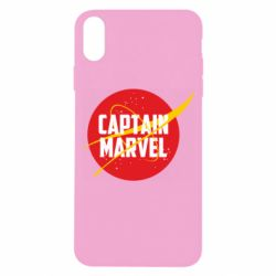 Чохол для iPhone X/Xs Captain Marvel in NASA style