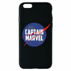 Чохол для iPhone 6/6S Captain Marvel in NASA style