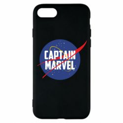 Чохол для iPhone 8 Captain Marvel in NASA style