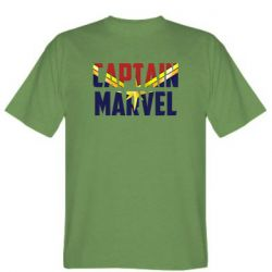 Чоловіча футболка Captain marvel inside star