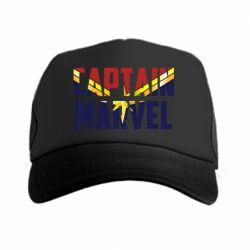 Кепка-тракер Captain marvel inside star