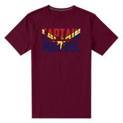 Чоловіча стрейчева футболка Captain marvel inside star