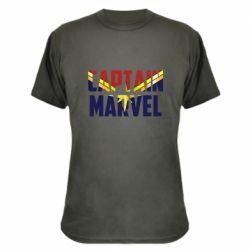 Камуфляжна футболка Captain marvel inside star
