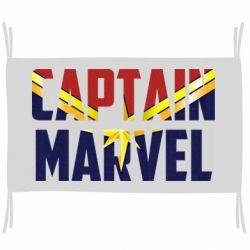 Прапор Captain marvel inside star