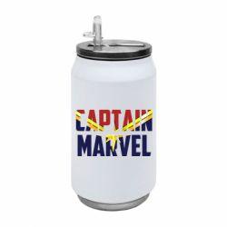 Термобанка 350ml Captain marvel inside star