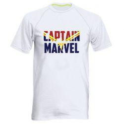 Чоловіча спортивна футболка Captain marvel inside star