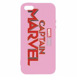 Чохол для iphone 5/5S/SE Captain Marvel logo