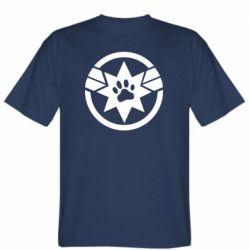 Чоловіча футболка Captain Marvel's Cat