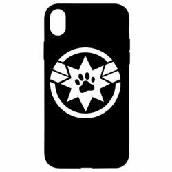 Чохол для iPhone XR Captain Marvel's Cat