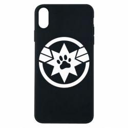 Чохол для iPhone Xs Max Captain Marvel's Cat