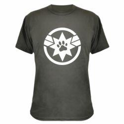 Камуфляжна футболка Captain Marvel's Cat