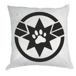 Подушка Captain Marvel's Cat