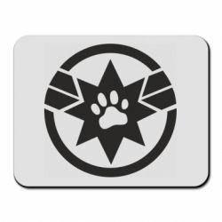 Килимок для миші Captain Marvel's Cat