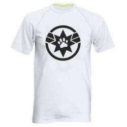 Чоловіча спортивна футболка Captain Marvel's Cat