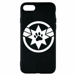 Чохол для iPhone 7 Captain Marvel's Cat