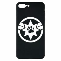 Чохол для iPhone 7 Plus Captain Marvel's Cat