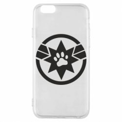 Чохол для iPhone 6/6S Captain Marvel's Cat