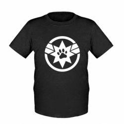 Дитяча футболка Captain Marvel's Cat