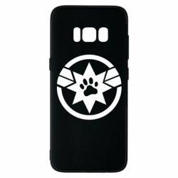 Чохол для Samsung S8 Captain Marvel's Cat