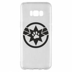 Чохол для Samsung S8+ Captain Marvel's Cat