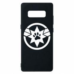 Чохол для Samsung Note 8 Captain Marvel's Cat