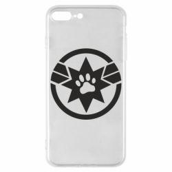 Чохол для iPhone 8 Plus Captain Marvel's Cat