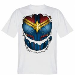 Чоловіча футболка Captain Marvel's Costume