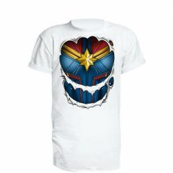 Подовжена футболка Captain Marvel's Costume