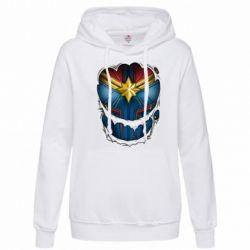 Толстовка жіноча Captain Marvel's Costume