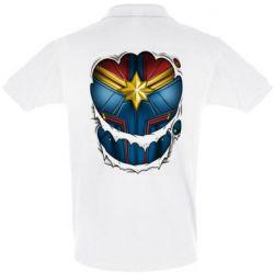 Футболка Поло Captain Marvel's Costume