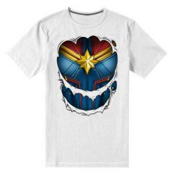 Чоловіча стрейчева футболка Captain Marvel's Costume