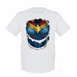 Дитяча футболка Captain Marvel's Costume