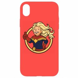 Чохол для iPhone XR Captain marvel style fallout boy