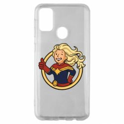 Чохол для Samsung M30s Captain marvel style fallout boy