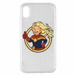 Чохол для iPhone X/Xs Captain marvel style fallout boy