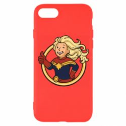 Чохол для iPhone 8 Captain marvel style fallout boy