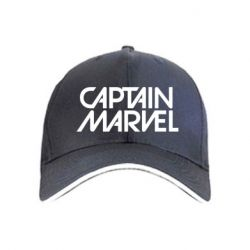 Кепка Captain marvel the inscription of the logo