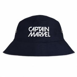 Панама Captain marvel the inscription of the logo