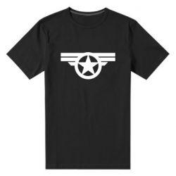 Мужская стрейчевая футболка Captain's Star