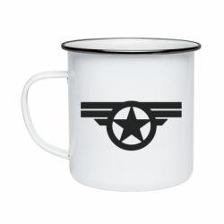Кружка эмалированная Captain's Star