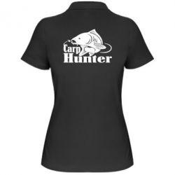 Жіноча футболка поло Carp Hunter