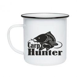 Кружка емальована Carp Hunter